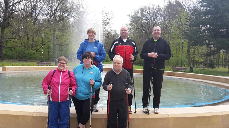 Workout Nordic Walking